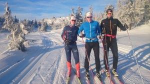 Meg, Eivind og Torbjørn